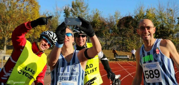 pictures from previous Stevenage Half Marathons